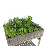 Kräutertöpfe Kruterhochbeet Herb Garden Gartengerte Und Helfer Garten Wohnzimmer Kräutertöpfe