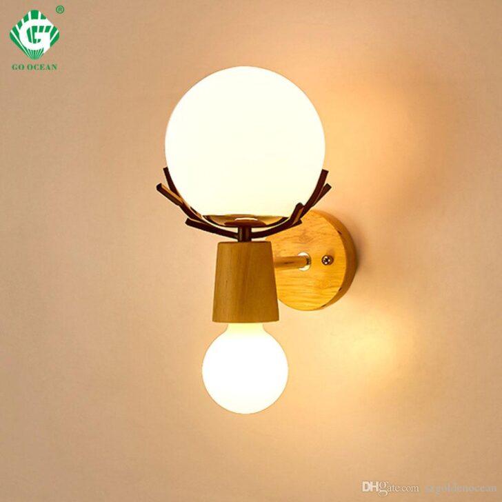 Medium Size of Kreative Led Wandleuchte Wandlampen E27 Birne Holz Vorhänge Schlafzimmer Set Günstig Komplett Schränke Landhaus Mit Boxspringbett Stuhl Für Günstige Wohnzimmer Schlafzimmer Wandlampen