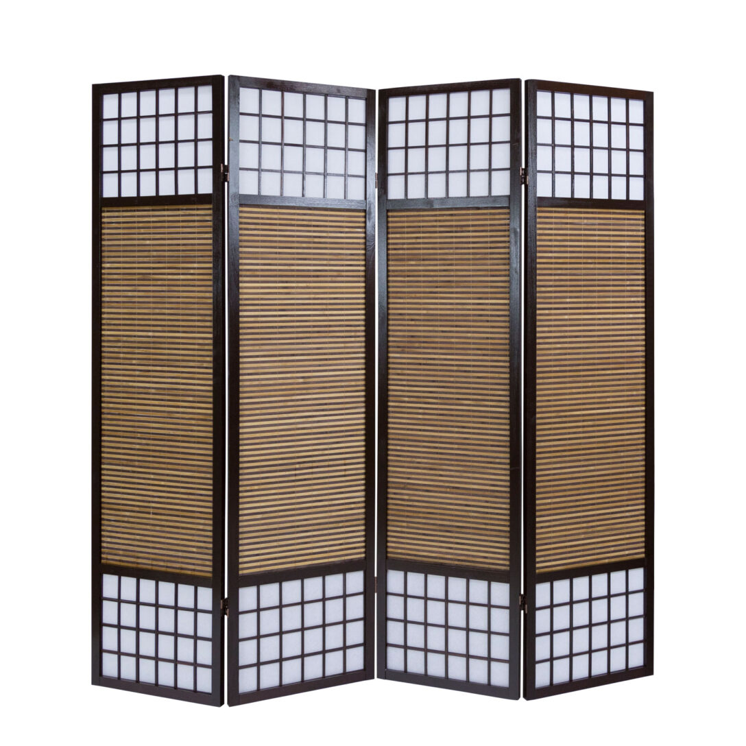 Large Size of Paravent Bambus Balkon Raumteiler 4fach Trennwand Spanische Wand Bett Garten Wohnzimmer Paravent Bambus Balkon