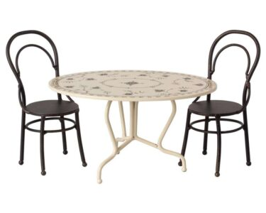 Mini Esstisch Wohnzimmer Mini Esstisch Maileg Tisch Set Und Zwei Sthle Metall Dining Table Weiß Oval Ausziehbarer Stühle Ovaler Holz Massiv Modern Lampe Kleine Esstische Bett