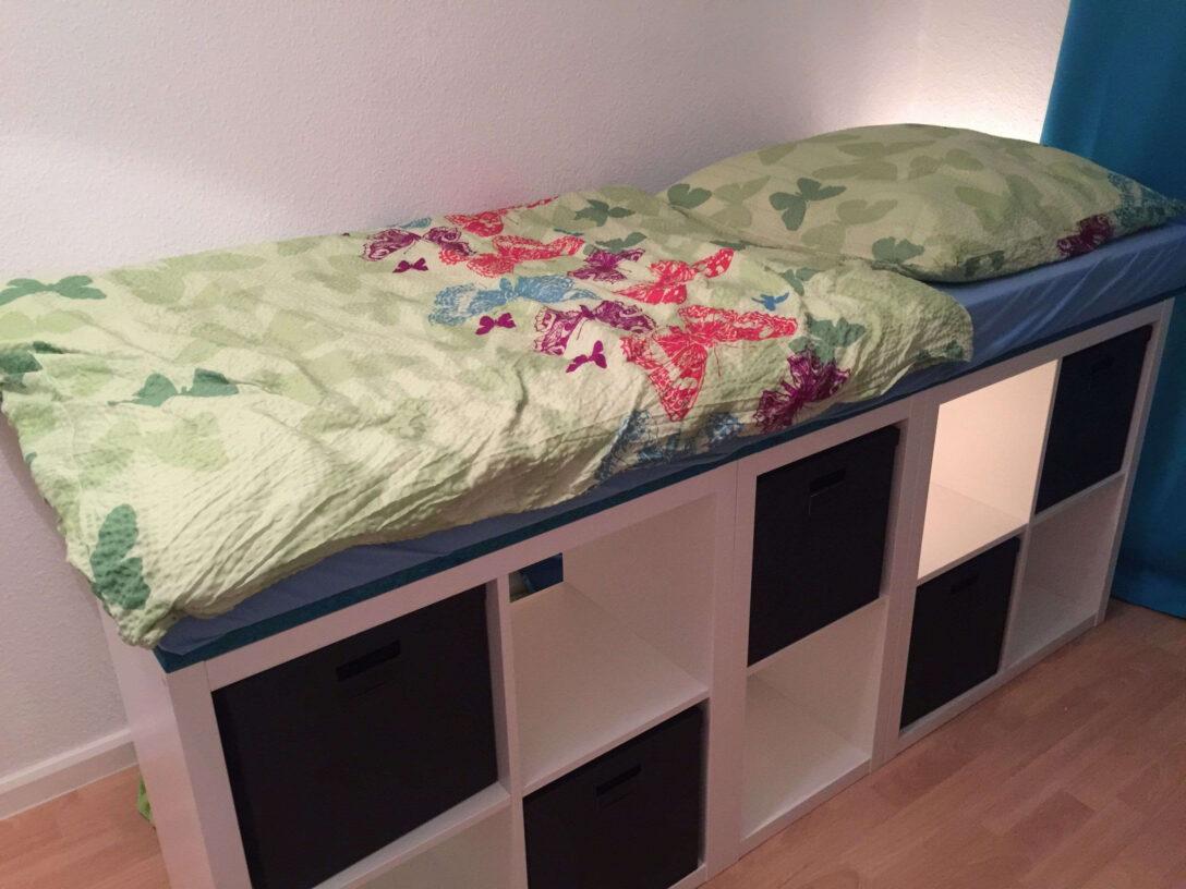 Large Size of Palettenbett Ikea Bett Aus Regalen Vianova Project 3a Fhrung Beste Mbelideen Miniküche Küche Kosten Kaufen Sofa Mit Schlaffunktion Modulküche Betten Bei Wohnzimmer Palettenbett Ikea