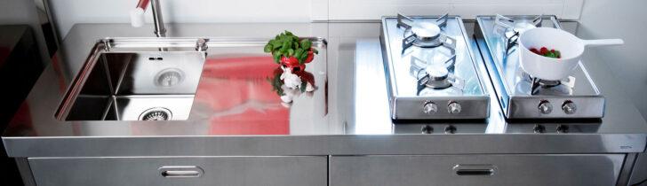 Medium Size of Alpes Inoedelstahlkchen Planung Edelstahlküche Gebraucht Edelstahl Garten Küchen Regal Outdoor Küche Wohnzimmer Edelstahl Küchen
