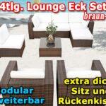 Modulares 24tlg Eck Lounge Gartenmbel Set Xxl Braun Milounge Garten Bewässerung Automatisch Wohnen Und Abo Spielhaus Feuerstellen Im Küche Günstig Mit Wohnzimmer Garten Lounge Günstig