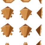Nobilia Wandabschlussleiste Wohnzimmer Nobilia Wandabschlussleiste 400cm In Eiche Provence Beton Einbauküche Küche