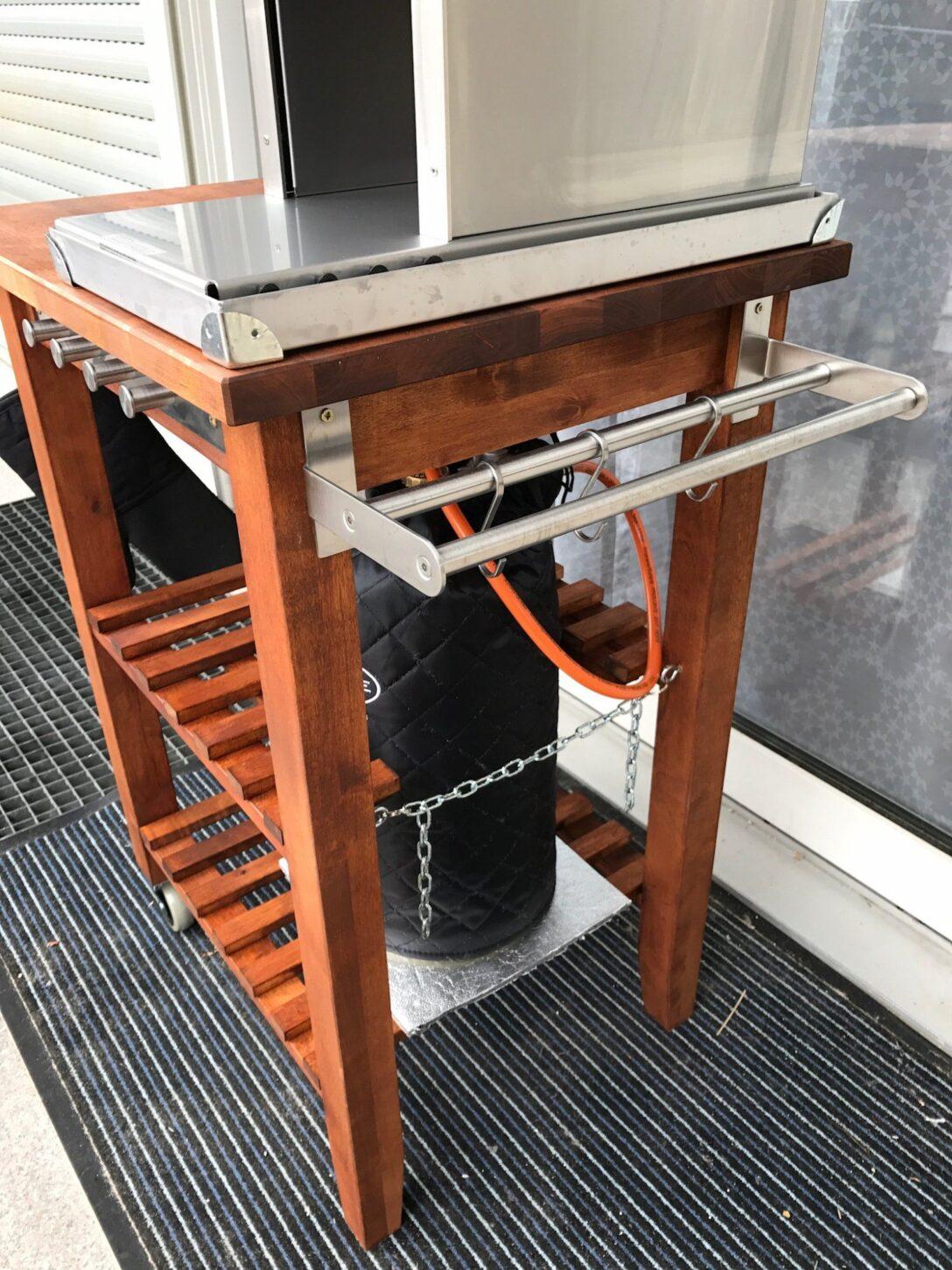 Large Size of Weber Grill Beistelltisch Ikea Tisch Der Bekvm Umbau Modding Threadseite 25 Grillforum Und Bbq Miniküche Küche Kosten Sofa Mit Schlaffunktion Betten 160x200 Wohnzimmer Grill Beistelltisch Ikea