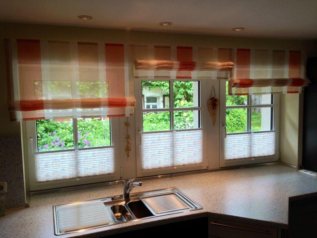 Full Size of Küchen Raffrollo Gardinen Vorhnge Fr Kreise Lichtenfels Küche Regal Wohnzimmer Küchen Raffrollo