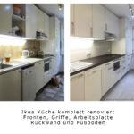 Rückwand Küche Ikea Wir Renovieren Ihre Kche Kchenrenovierung Mnchen Fronten Grau Hochglanz Essplatz Stengel Miniküche Sideboard Einbauküche Gebraucht Wohnzimmer Rückwand Küche Ikea