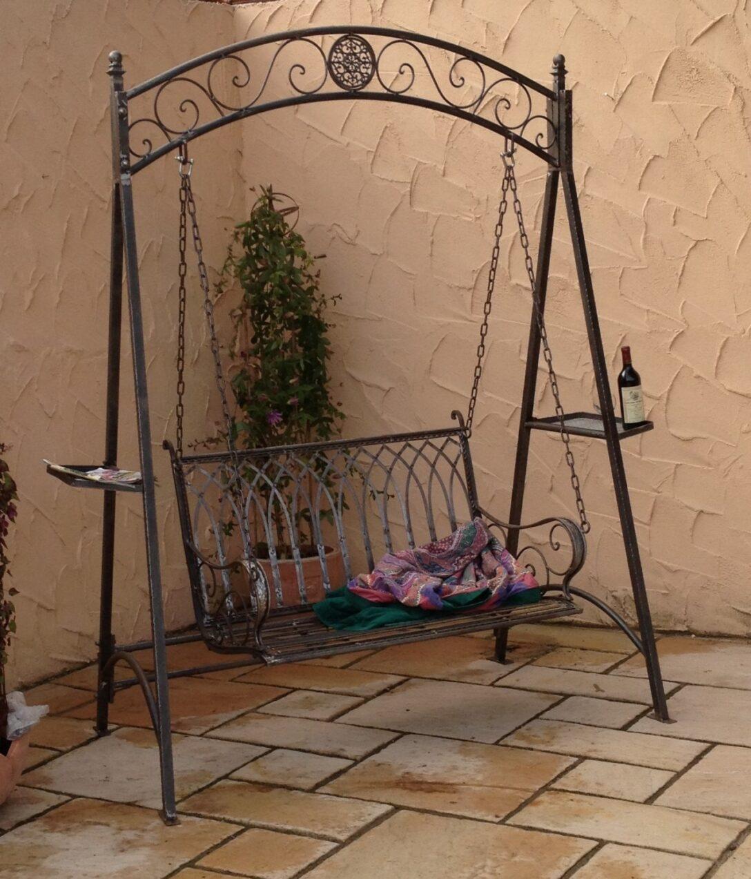 Large Size of Gartenschaukel Metall Landhaus Eisen Schmiedeeisen Hollywood Garten Schaukel Romantico Bett Regale Regal Weiß Wohnzimmer Gartenschaukel Metall