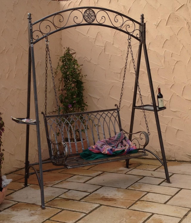 Full Size of Gartenschaukel Metall Landhaus Eisen Schmiedeeisen Hollywood Garten Schaukel Romantico Bett Regale Regal Weiß Wohnzimmer Gartenschaukel Metall