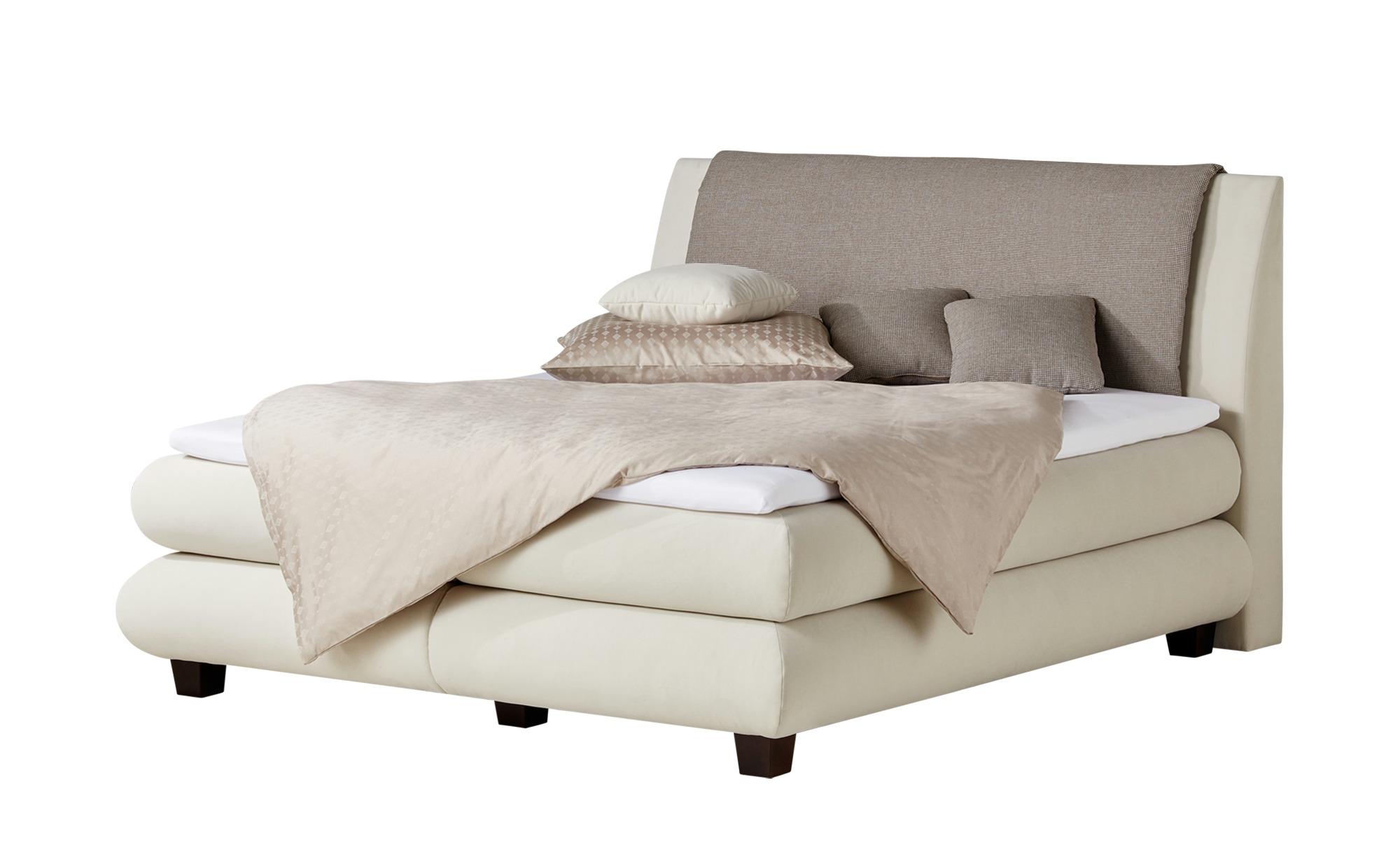 Full Size of Boxspringbett Beige Samt 180x200 200x200 Premium Wei Hffner Sofa Schlafzimmer Set Mit Wohnzimmer Boxspringbett Beige Samt