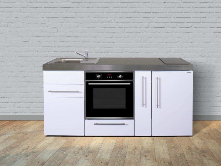 Medium Size of Miniküchen Stengel Minikche Mpb 180 A Mit Backofen Und Apothekerschrank Wohnzimmer Miniküchen