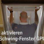 Velux Scharnier Federn Aktivieren Bei Einem Veluklapp Schwing Fenster Youtube Kaufen Einbauen Rollo Preise Ersatzteile Wohnzimmer Velux Scharnier