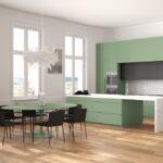 Zweizeilige Kchen Kchendesignmagazin Fotogalerie Küchen Regal Freistehende Küche Wohnzimmer Freistehende Küchen
