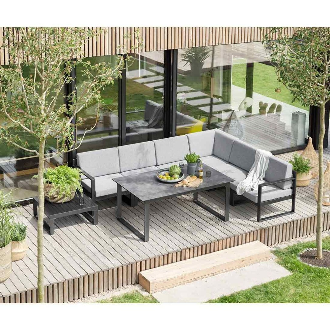 Large Size of Kettler Ocean Modular Diningecke 8 Teilig Aluminium Olefin In 2020 Fenster Garten Loungemöbel Holz Verbundplatte Küche Günstig Wohnzimmer Loungemöbel Aluminium