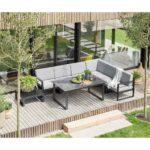 Loungemöbel Aluminium Wohnzimmer Kettler Ocean Modular Diningecke 8 Teilig Aluminium Olefin In 2020 Fenster Garten Loungemöbel Holz Verbundplatte Küche Günstig