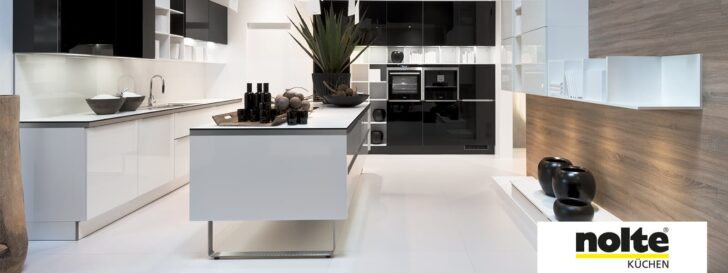 Medium Size of Nolte Küchen Glasfront Glas Tec Plus Kche Einzigartig Durch Echtglasfronten Regal Betten Schlafzimmer Küche Wohnzimmer Nolte Küchen Glasfront
