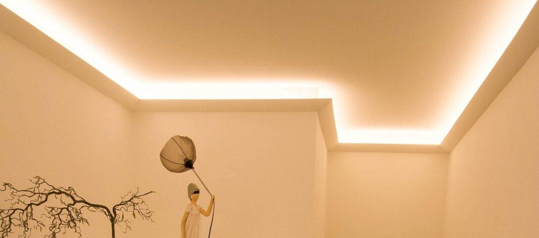Large Size of Led Wohnzimmer Deckenleuchte Indirekte Beleuchtung Decke Und Fassadengestaltung Ihr Experte Deckenleuchten Echtleder Sofa Einbaustrahler Bad Spiegelschrank Wohnzimmer Led Wohnzimmer Deckenleuchte