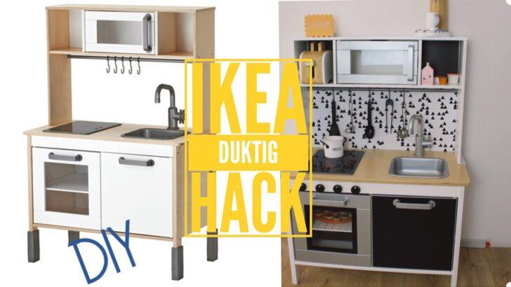 Medium Size of Ikea Duktig Hack Kinderkche Pimpen Diy Kinderkchen Zubehr Wasserhahn Für Küche Nobilia Kleiner Tisch Wandverkleidung Mit Kochinsel Gardinen Die Günstig Wohnzimmer Rückwand Küche Ikea