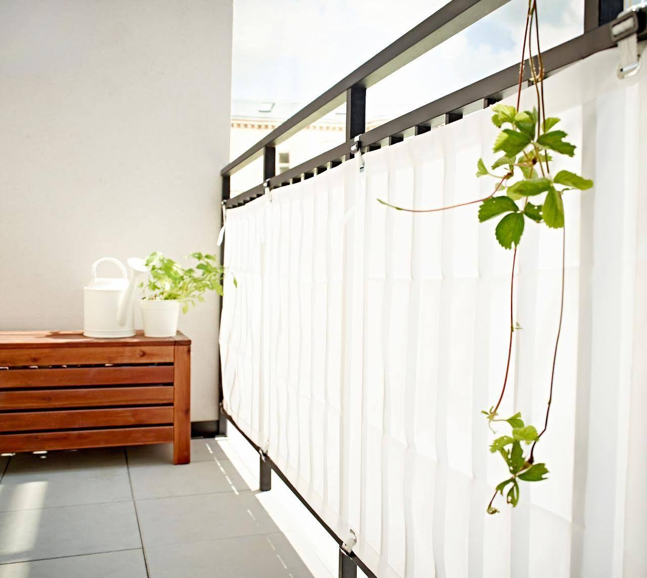 Full Size of Paravent Balkon Ikea Balkonbespannung Dyning Von Bild 10 Betten 160x200 Garten Miniküche Küche Kosten Modulküche Bei Sofa Mit Schlaffunktion Kaufen Wohnzimmer Paravent Balkon Ikea