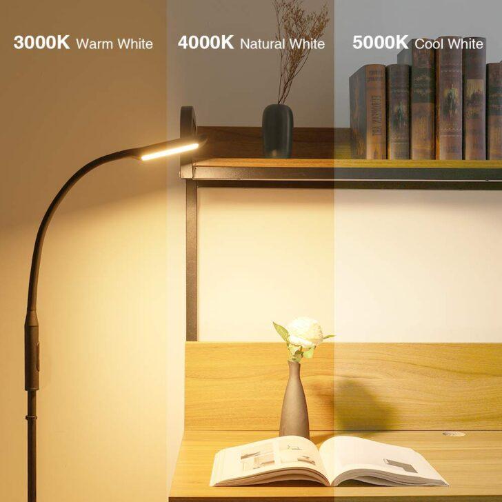 Medium Size of Wohnzimmer Stehlampe Modern Stehlampen Solmore 1200 Lumen Und 3 Farbtemperaturen Led Dimmbar Ul Schrankwand Teppich Gardine Landhausstil Anbauwand Deckenlampen Wohnzimmer Wohnzimmer Stehlampe Modern