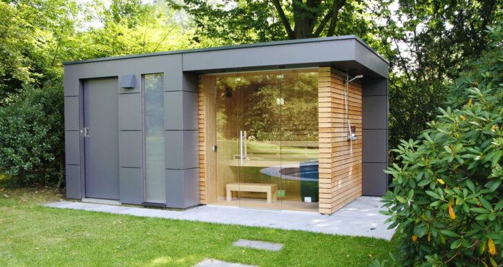 Medium Size of Gartensauna Bausatz Design Gartenhaus Moderne Gartenhuser Schicke Auch Wohnzimmer Gartensauna Bausatz