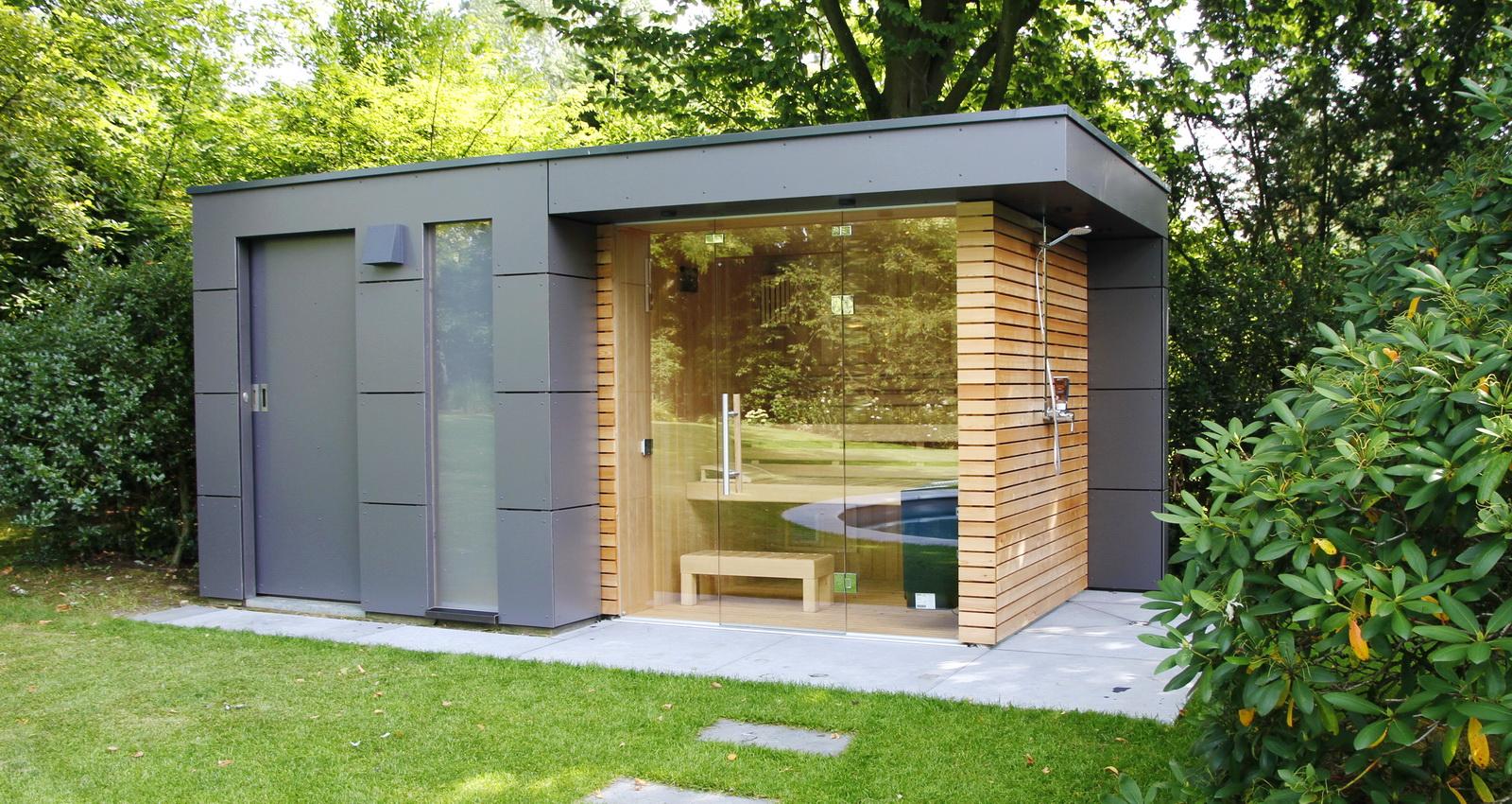 Full Size of Gartensauna Bausatz Design Gartenhaus Moderne Gartenhuser Schicke Auch Wohnzimmer Gartensauna Bausatz