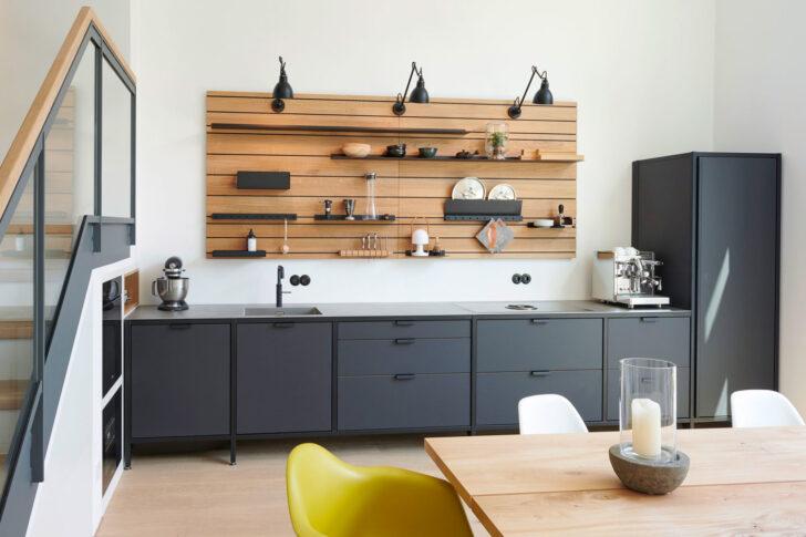 Medium Size of Freistehende Küchen Werk Modulkche Im Industrial Style Jan Cray Mbel Und Kchen Küche Regal Wohnzimmer Freistehende Küchen