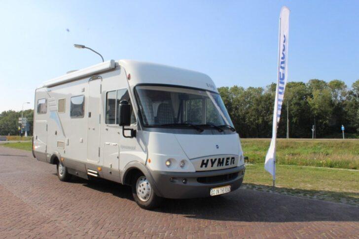 Medium Size of Hymer B 644 G Festbett Ausziehbett Von 2005 Zum Verkauf Auf Bett Mit Wohnzimmer Ausziehbett Camper