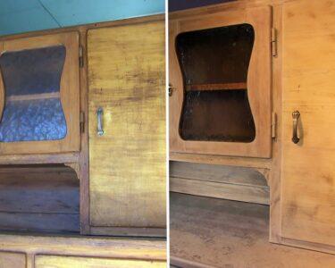 Holzküche Auffrischen Wohnzimmer Holzküche Auffrischen Kchenschrank Einfach Selbst Restauriert Youtube Vollholzküche Massivholzküche