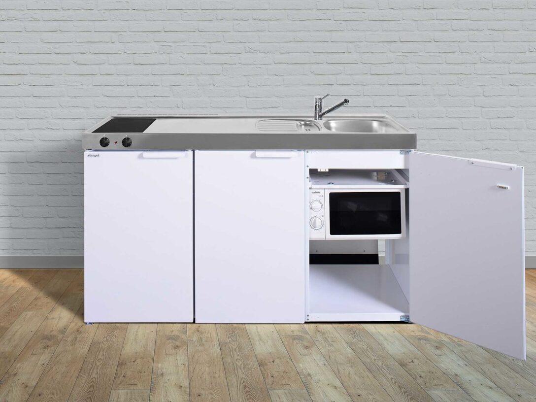 Large Size of Miniküchen Stengel Singlekche Mkm 150 Mit Mikrowelle Khlschrank Wohnzimmer Miniküchen