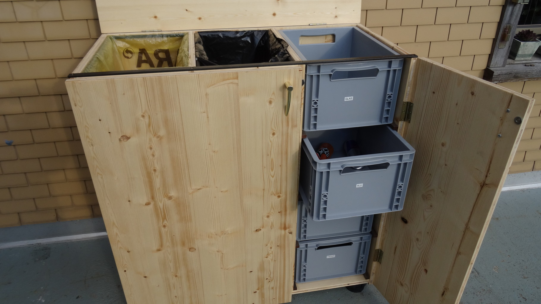 Full Size of Müllsystem Shop Wildewaelderware Mllsystem Mbelstck Ordnung Mit System Küche Wohnzimmer Müllsystem