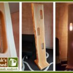 Holz Led Lampe Selber Bauen Designer Aus Einer Holzbohle Diy Lamp From Big Sofa Leder Regal Weiß Braun Holzregal Badezimmer Hängelampe Wohnzimmer Wohnzimmer Holz Led Lampe Selber Bauen