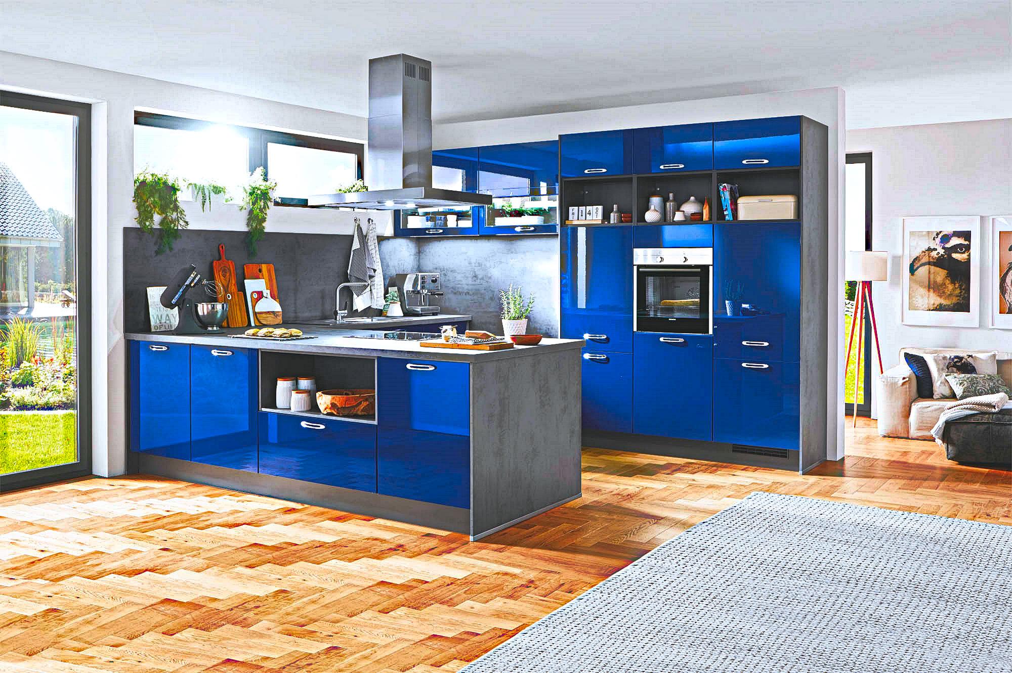 Full Size of Küche Blau Grau Blaue Kche Gnstig Kaufen Kompetente Kchenplanung Kchenbrse Theke Holz Modern Gardinen Für Die Pendelleuchte Wandregal Landhaus Wohnzimmer Küche Blau Grau