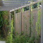 Garten Trennwände Sichtschutz Moderne Holz Lamellen Nach Ma Von Walli Kräutergarten Küche Pavillon Wassertank Kletterturm Schallschutz Led Spot Trennwand Wohnzimmer Garten Trennwände