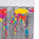 Habitat Küche Mappa Shower Curtain By Onlinediscountstore Amazonde Ohne Hängeschränke Bodenbelag Stengel Miniküche Einbau Mülleimer Wanduhr Gebrauchte Wohnzimmer Habitat Küche