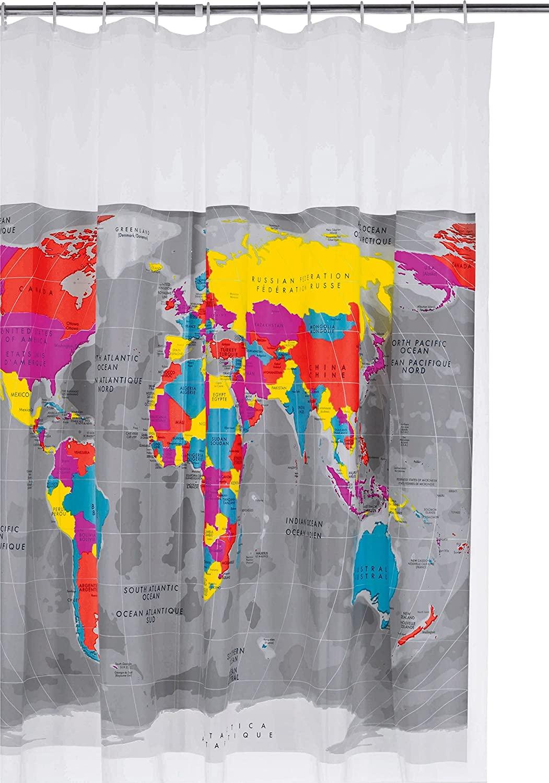 Full Size of Habitat Küche Mappa Shower Curtain By Onlinediscountstore Amazonde Ohne Hängeschränke Bodenbelag Stengel Miniküche Einbau Mülleimer Wanduhr Gebrauchte Wohnzimmer Habitat Küche