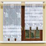 Scheibengardinen Balkontür Wohnzimmer Clipstore Scheibengardinen Küche