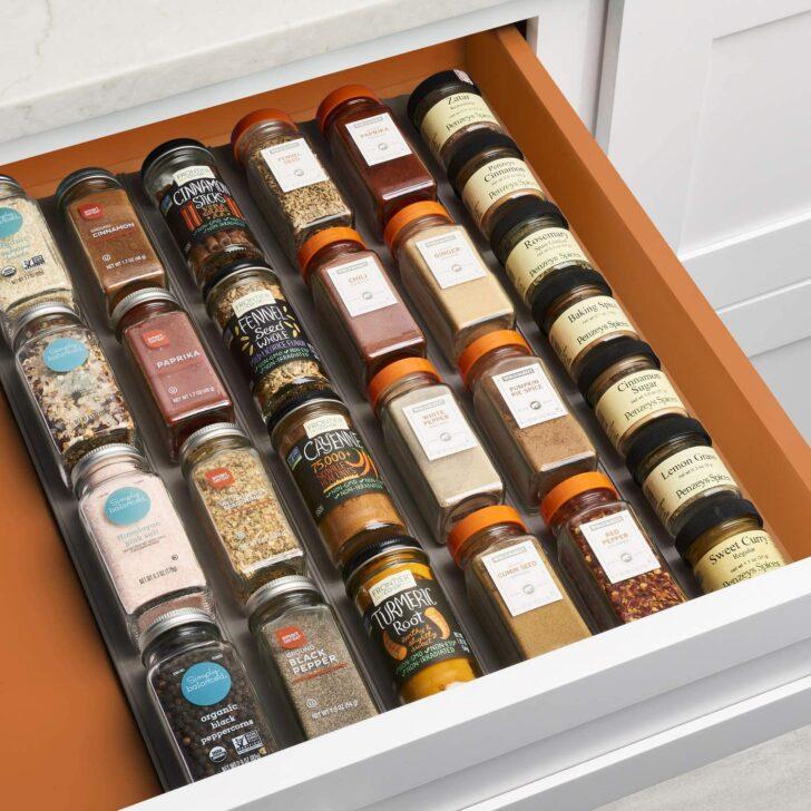 Medium Size of Gewürze Schubladeneinsatz Youcopia Spiceliner Schaumstoffeinlagen Fr Schubladen Küche Wohnzimmer Gewürze Schubladeneinsatz