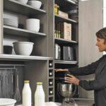 Mini Küche über Eck Kleine Kche 7 Tipps Fr Mehr Stauraum In Einer Minikche Alno Waschbecken Arbeitsplatten U Form Salamander Ikea Miniküche Deckenlampen Wohnzimmer Mini Küche über Eck