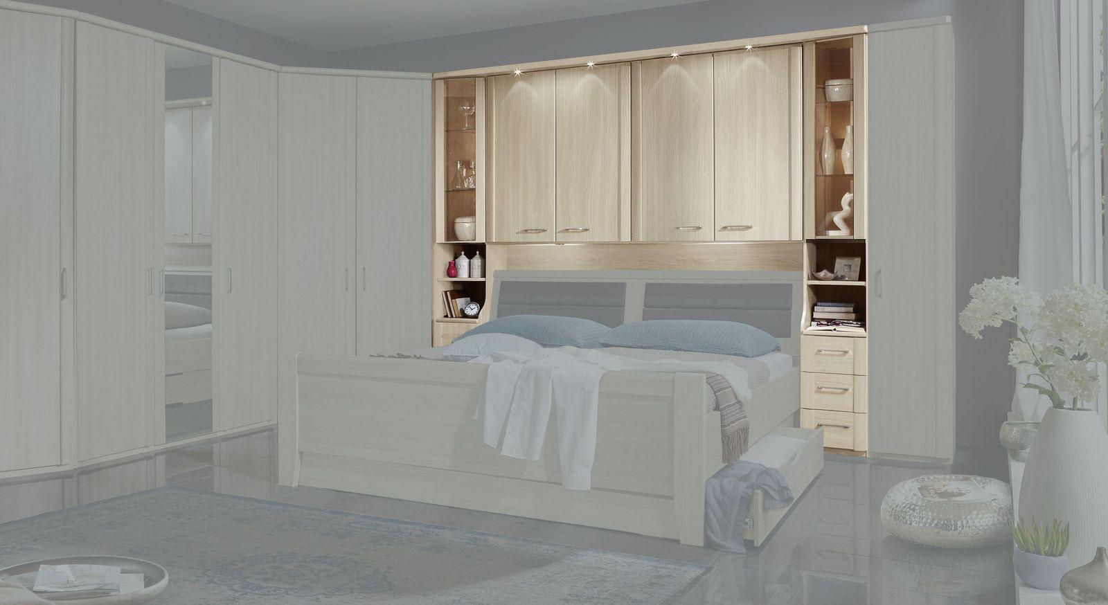 Full Size of überbau Schlafzimmer Modern Bettbrcke Mit Kranzleiste Fr Berbau Palena Led Deckenleuchte Weißes Moderne Duschen Set Günstig Truhe Stuhl Für Günstige Wohnzimmer überbau Schlafzimmer Modern