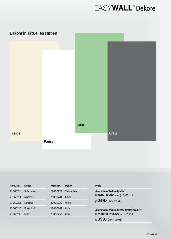 Medium Size of Easywall Alu Verbundplatte Wandinnovation In Xxl Fr Bad Wohnzimmer Easywall Alu Verbundplatte