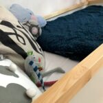 Kinderbett Diy Wohnzimmer Kinderbett Diy Hausbett Mit Rausfallschutz Ikea Kura Hack