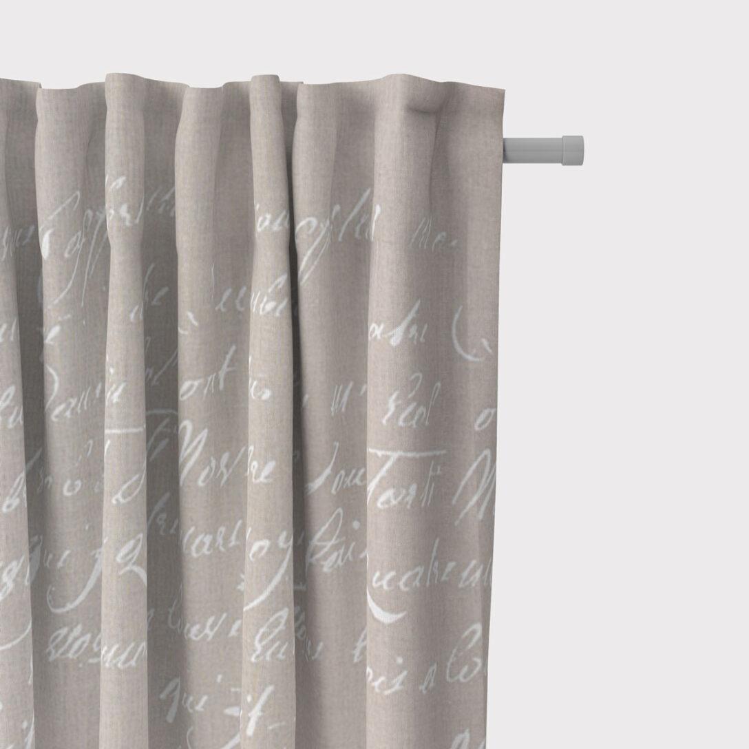 Large Size of Vorhänge Schner Leben Leinen Vorhang Vorhangschal Mit Smok Schlaufenband Schlafzimmer Küche Wohnzimmer Wohnzimmer Vorhänge