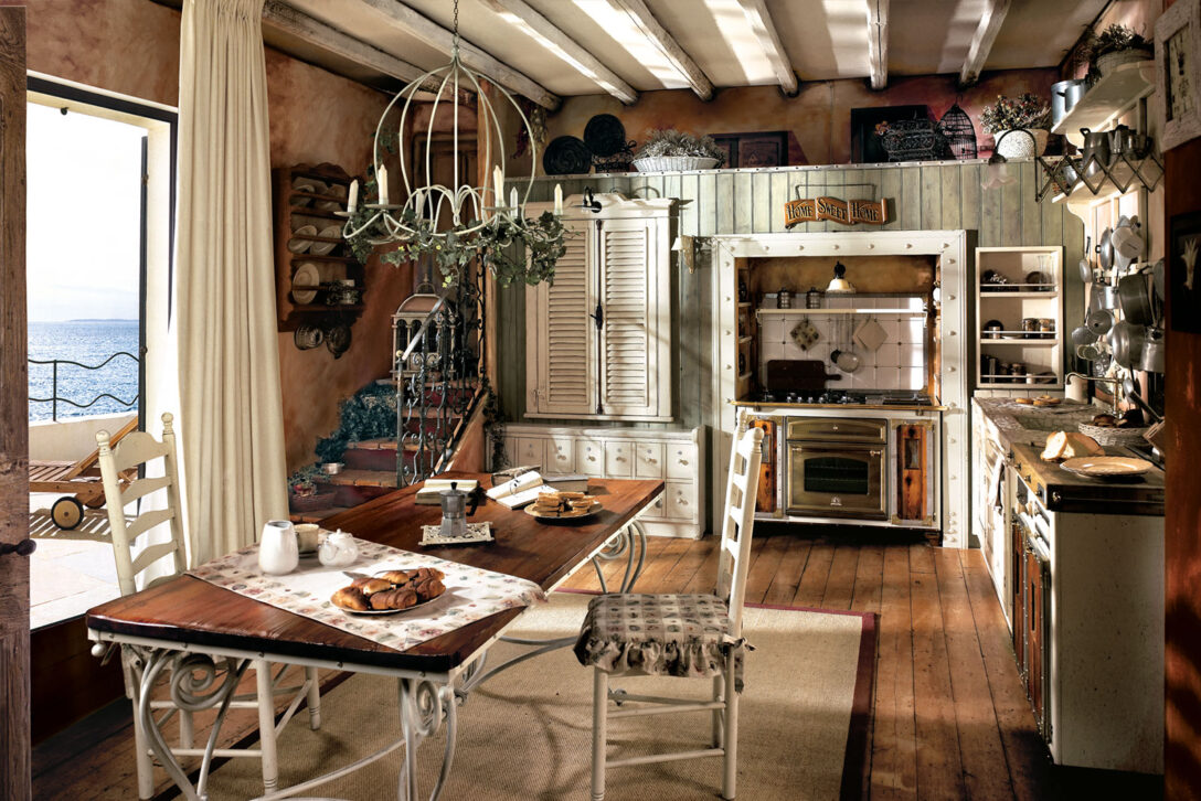 Large Size of Rustikales Bett Esstisch Rustikal Holz Küche Regal Küchen Rustikaler Wohnzimmer Küchen Rustikal