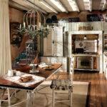 Rustikales Bett Esstisch Rustikal Holz Küche Regal Küchen Rustikaler Wohnzimmer Küchen Rustikal