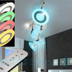 Wohnzimmer Deckenstrahler Dimmbar Anordnung Lampe Moderne Einbau Led Deckenlampen Für Stehlampe Deko Bilder Modern Indirekte Beleuchtung Anbauwand Rollo Wohnzimmer Wohnzimmer Deckenstrahler