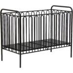 Babybett Schwarz Kinderbett Gitterbett Aus Metall Polini 150 Bett 180x200 Weiß Schwarze Küche Schwarzes Wohnzimmer Babybett Schwarz