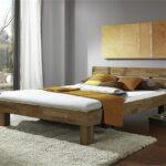 Futonbett Jenny Wildeiche Massiv Gelt 100x200 Mit Kopfteil Bett Betten Weiß Wohnzimmer Futonbett 100x200