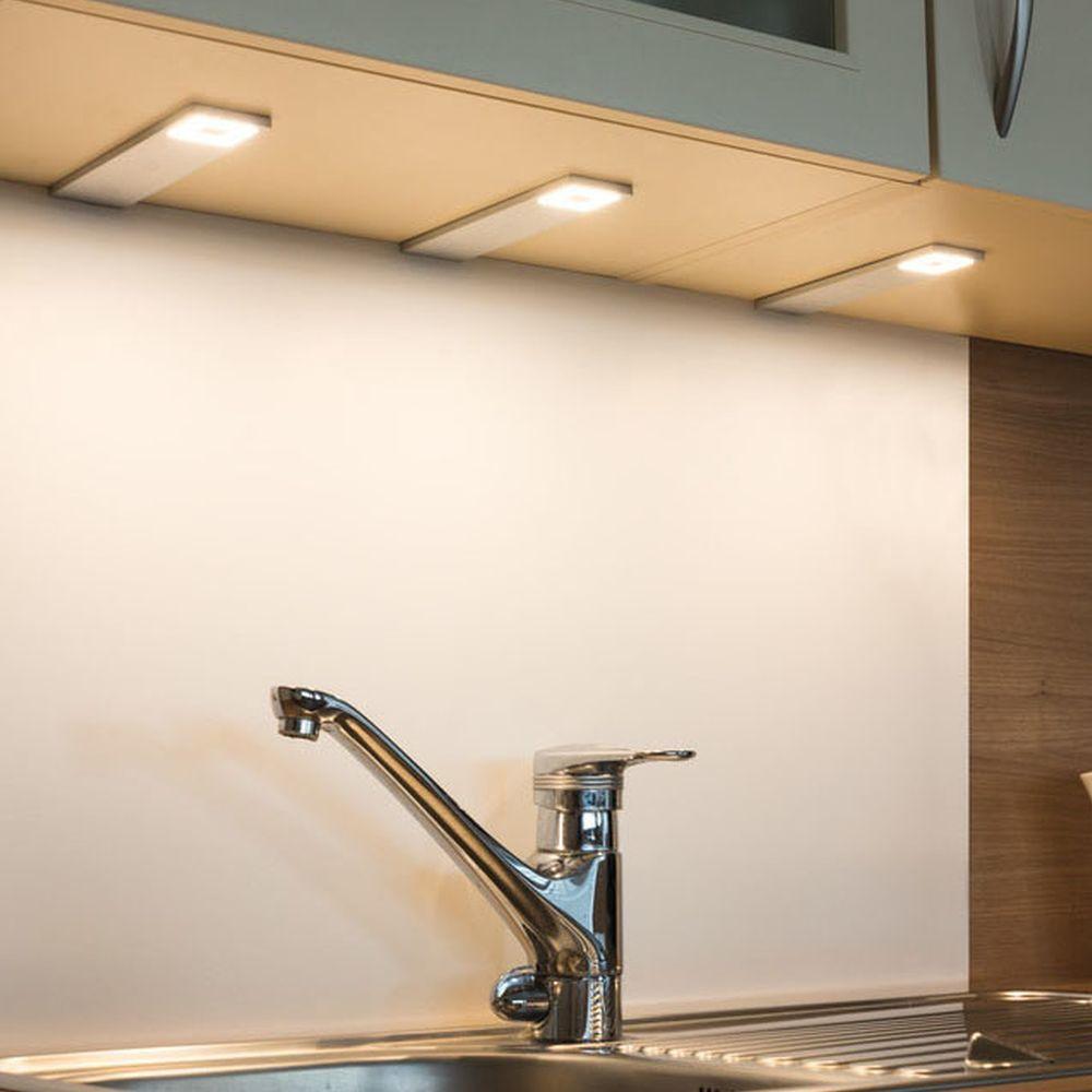 Full Size of Led Unterbauleuchte Cortina 3er Set 72w 3000k 420lm Heitronic Einbauküche Ohne Kühlschrank Küche Mit Geräten Tresen Deckenleuchten Pendelleuchte Umziehen Wohnzimmer Unterbauleuchte Küche