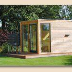 Gartensauna Rhombusschalung Design Vom Hersteller Holzonde Wohnzimmer Gartensauna Bausatz